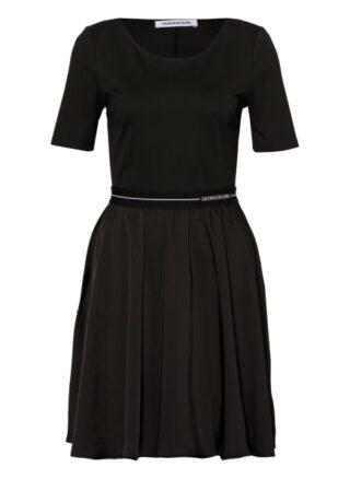 Calvin Klein Jeans Ausgestelltes Kleid Damen, Schwarz