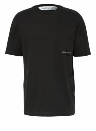 Calvin Klein Jeans Oversized-Shirt Herren, Schwarz