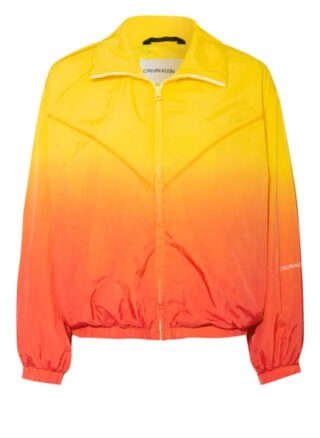 Calvin Klein Jeans Regenjacken Damen, Orange
