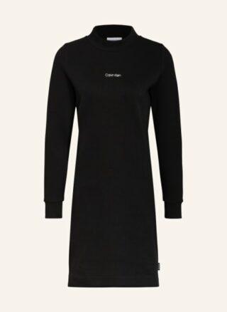 Calvin Klein Jerseykleid Damen, Schwarz