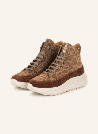 Candice Cooper Cooper Spark Plus Hightop-Sneaker Damen, Beige