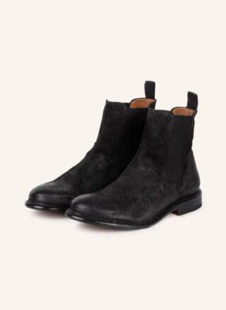 Cordwainer Chelsea Boots Herren, Schwarz