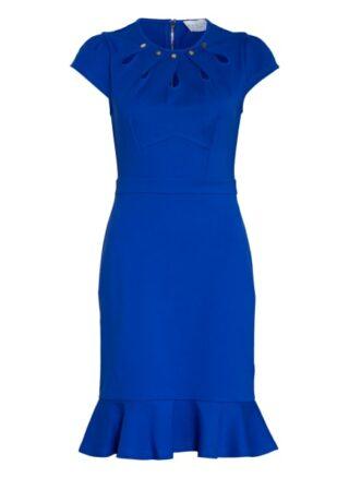Damsel in a dress Etuikleid Damen, Blau