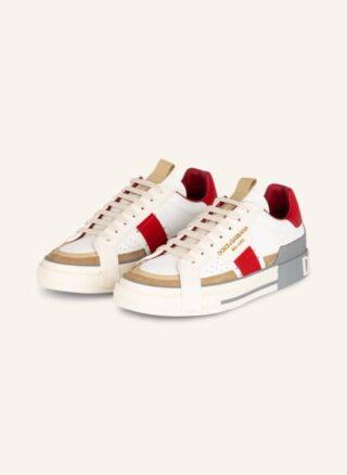 Dolce&Gabbana Custom 2.Zero Sneaker Herren, Beige