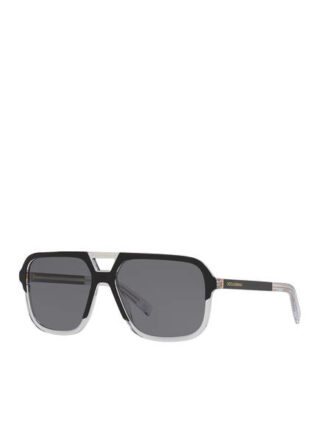 Dolce&Gabbana Dg 4354 Sonnenbrille Herren, Schwarz