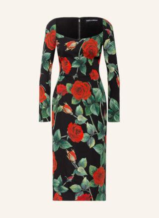 Dolce&Gabbana Etuikleid Damen, Grün