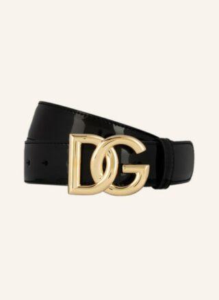 Dolce&Gabbana Ledergürtel Damen, Schwarz