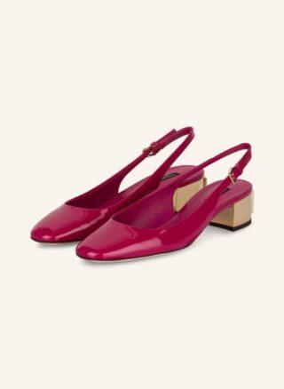 Dolce&Gabbana Slingpumps Damen, Pink