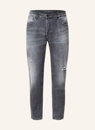 Dondup Brighton Tapered Jeans Herren, Schwarz