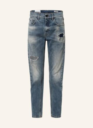 Dondup Mila Slim Fit Jeans Damen, Blau