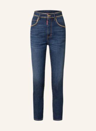 Dsquared2 7/8 Skinny Jeans Damen, Blau
