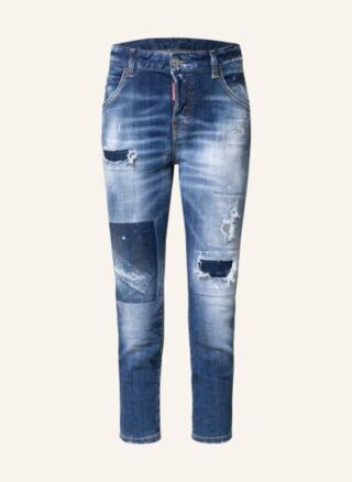 Dsquared2 Cool Girl 7/8 Skinny Jeans Damen, Blau