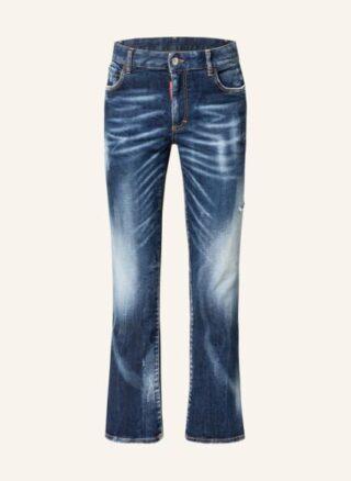 Dsquared2 Flared Leg Jeans Damen, Blau