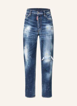 Dsquared2 Jeans Boston Jean Straight Leg Jeans Damen, Blau