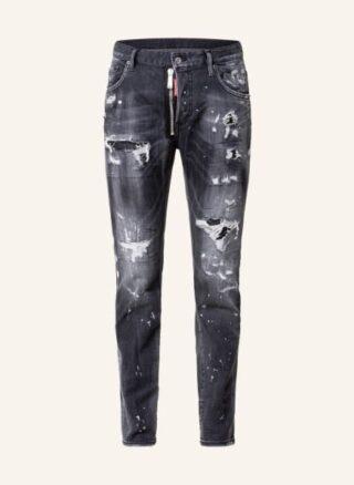Dsquared2 Jeans Skater Regular Fit Jeans Herren, Schwarz