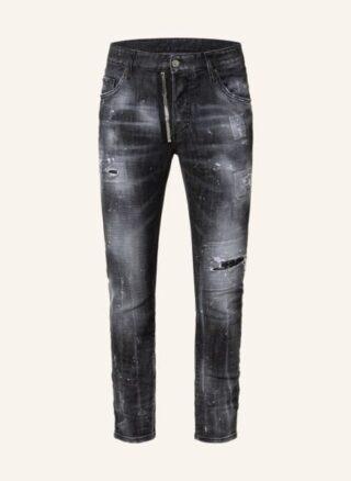 Dsquared2 Jeans Skater Tapered Jeans Herren, Schwarz