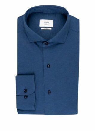 ETERNA 1863 Jerseyhemd Herren, Blau