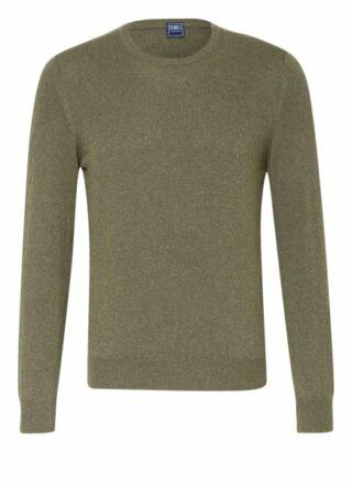 FEDELI Argentina Cashmere-Pullover Herren, Grün