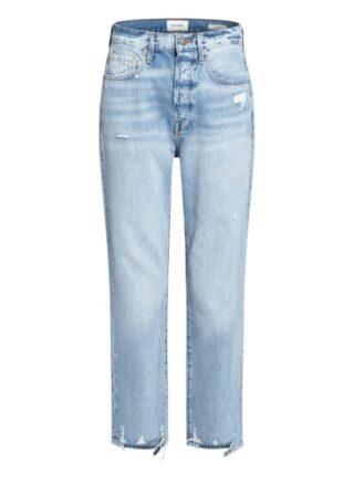 FRAME DENIM Jeans Le Original Straight Leg Jeans Damen, Blau