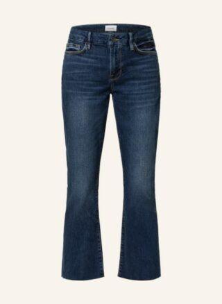 FRAME DENIM Le Crop Mini Bootcut Jeans Damen, Blau