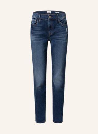 FRAME DENIM Le Garcon Straight Leg Jeans Damen, Blau