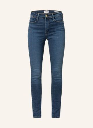 FRAME DENIM Le High Skinny Straight Leg Jeans Damen, Blau
