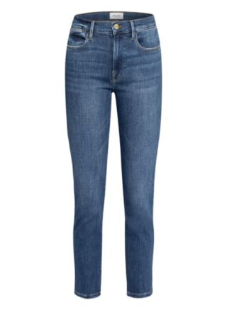 FRAME DENIM Le High Straight Straight Leg Jeans Damen, Blau