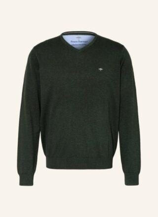FYNCH-HATTON Pullover Herren, Grün