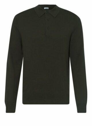 Filippa K Strick-Poloshirt Herren, Grün