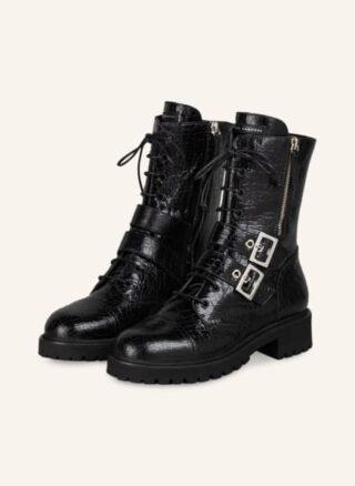GIUSEPPE ZANOTTI DESIGN Boots Combat Biker Boots Damen, Schwarz