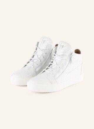 GIUSEPPE ZANOTTI DESIGN Hightop-Sneaker Herren, Weiß
