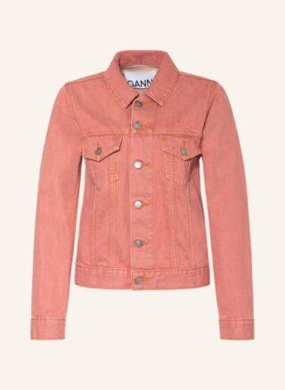Ganni Jeansjacke Damen, Pink