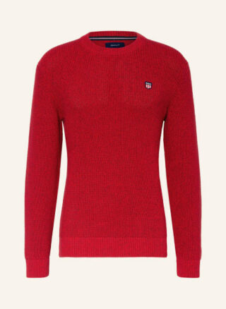 Gant Pullover Herren, Rot