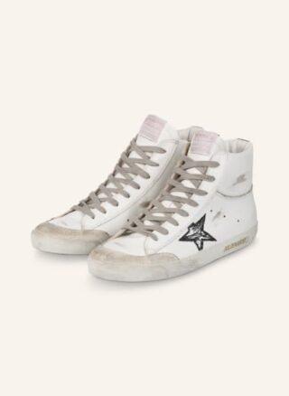 Golden Goose Francy Plateau-Sneaker Damen, Weiß
