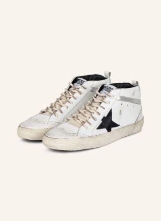 Golden Goose Mid Star Classic Hightop-Sneaker Herren, Weiß