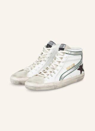 Golden Goose Slide Classic Hightop-Sneaker Herren, Weiß