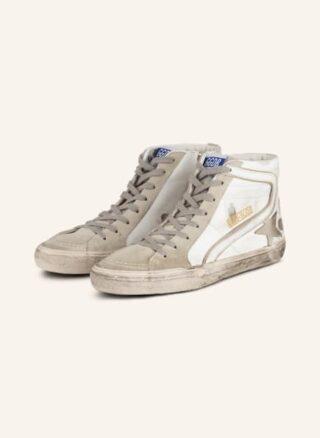 Golden Goose Suede Star Hightop-Sneaker Herren, Weiß