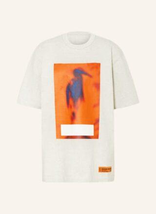 HERON PRESTON Oversized-Shirt Herren, Grau