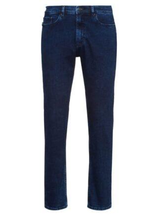 HUGO 677/38 Straight Leg Jeans Herren, Blau