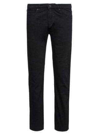 HUGO 708 Straight Leg Jeans Herren, Schwarz