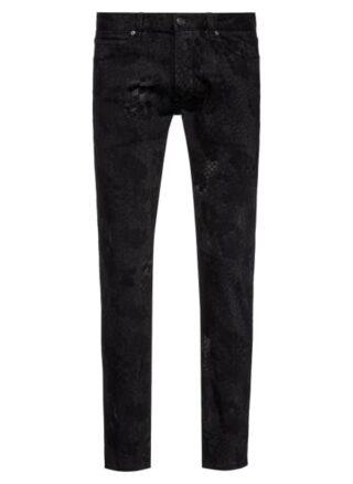 HUGO 734 Skinny Jeans Herren, Schwarz