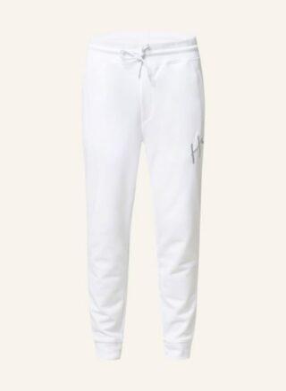 HUGO Dartini Jogginghose Herren, Weiß