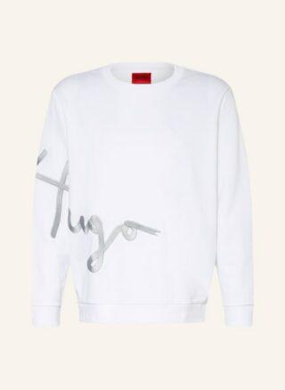 HUGO Dollins Sweatshirt Herren, Weiß