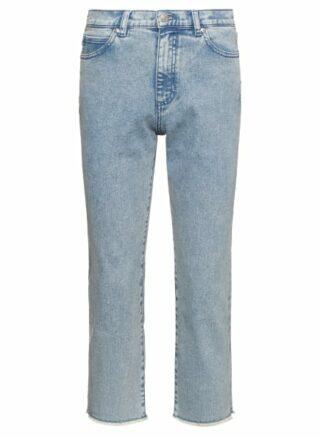 HUGO Gayang Straight Fit Straight Leg Jeans Damen, Blau