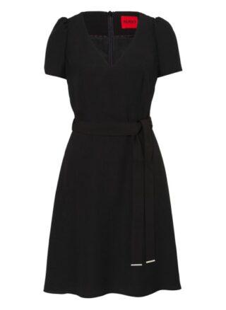 HUGO Kimiras Ausgestelltes Kleid Damen, Schwarz