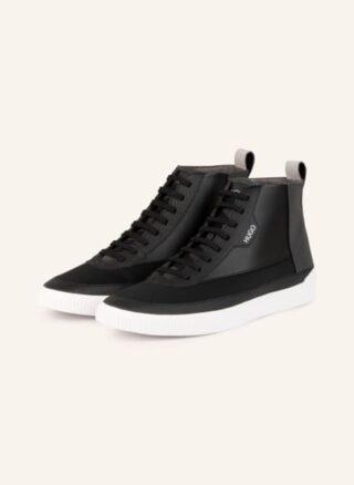 HUGO Zero Hito Hightop-Sneaker Herren, Schwarz