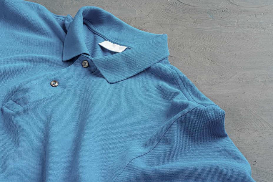 Herren Poloshirt, Polo-Shirts Blau Mann, Blaues Herren Polo