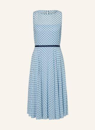 Hobbs Della Ausgestelltes Kleid Damen, Blau