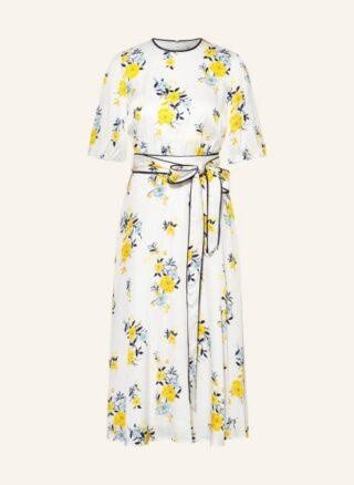 Hobbs Lana Ausgestelltes Kleid Damen, Weiß
