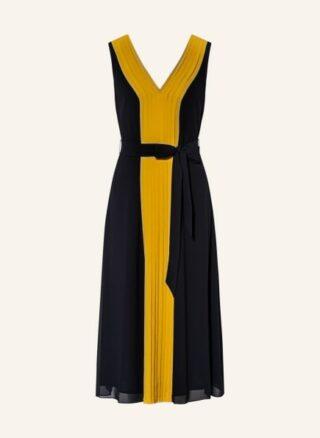 Hobbs lilane Ausgestelltes Kleid Damen, Blau